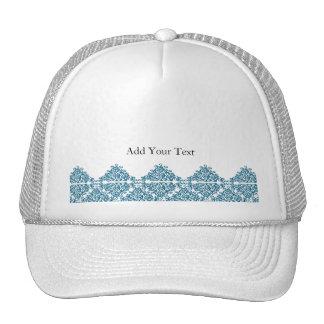 Teja azul marroquí del triángulo gorro