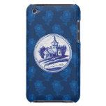 Teja azul tradicional holandesa iPod Case-Mate cárcasa