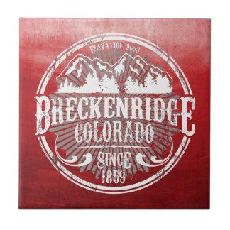 Teja blanca radial vieja de Breckenridge