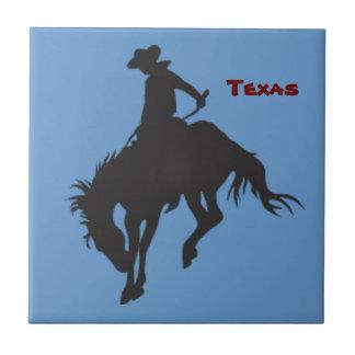 Teja Bucking del caballo de Tejas