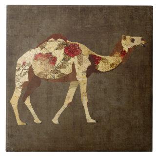 Teja color de rosa del camello
