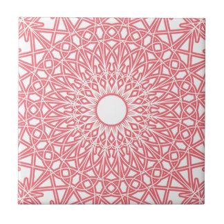 Teja Crocheted rosa del cordón del chicle
