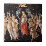 Teja de Botticelli Primavera