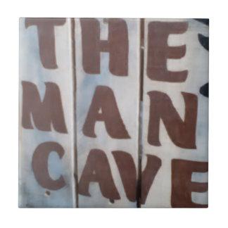 """Teja de cerámica de la foto """"de la cueva del"""
