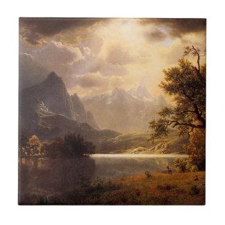 Teja de Colorado del parque de Bierstadt Estes