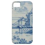 Teja de Delft que muestra un puente levadizo sobre iPhone 5 Case-Mate Cobertura