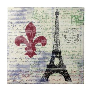 Teja de Francia de la torre Eiffel