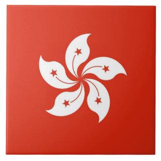 Teja de la bandera de Hong Kong