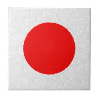 Teja de la BANDERA de JAPÓN