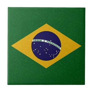 Teja de la BANDERA del BRASIL