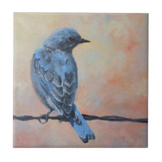 Teja de la bella arte del Bluebird
