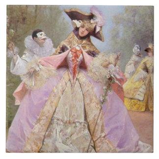 Teja de la bola de mascarada del Victorian