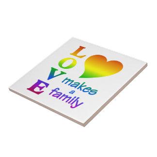 Teja de la familia del arco iris