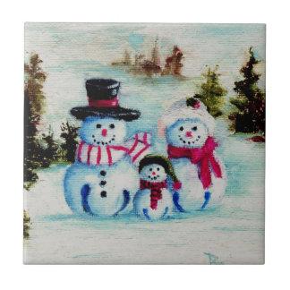Teja de la familia del muñeco de nieve