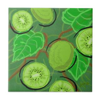 Teja de la fruta:  Kiwis