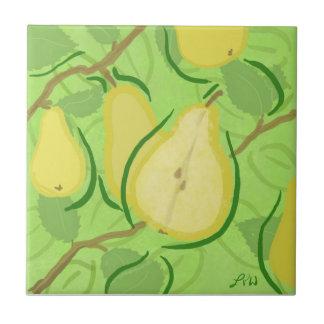 Teja de la fruta: Pera