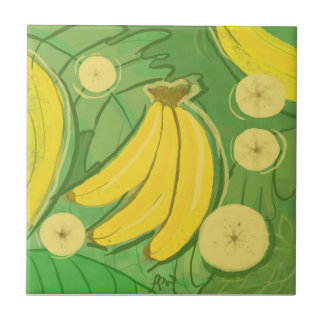 Teja de la fruta: Plátanos