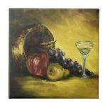 Teja de la fruta y del vino