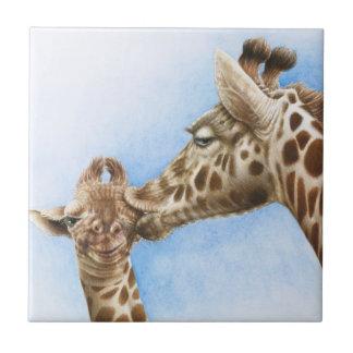 Teja de la jirafa y del becerro