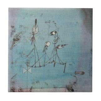 Teja de la máquina de Paul Klee Twittering