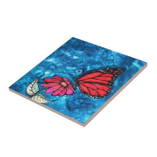 Teja de la mariposa de monarca: Imagen de Cyn Mc