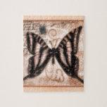 Teja de la mariposa de Vinetage Puzzle Con Fotos