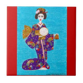 Teja de la muñeca del geisha