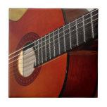 Teja de la música de la guitarra