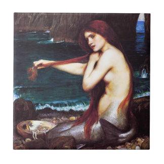 Teja de la sirena de John William Waterhouse