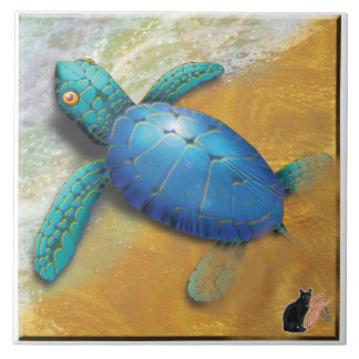 Teja de la tortuga de mar
