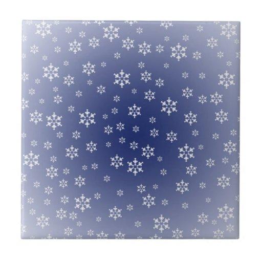 Teja de los copos de nieve
