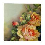 Teja de los rosas del vintage