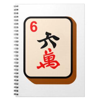 Teja de Mahjong Libros De Apuntes