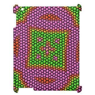 Teja de mosaico coloreada brillante