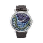 Teja de mosaico del reloj