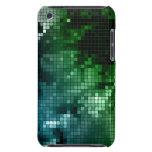 Teja de mosaico verde iPod Case-Mate coberturas