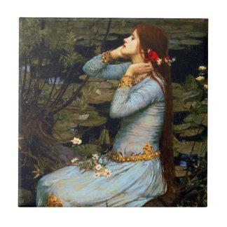 Teja de Ofelia del Waterhouse