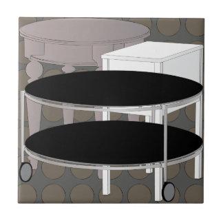 Teja de Tabels Brown de los muebles de Ikea