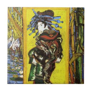 Teja de Van Gogh Japonaiserie Oiran