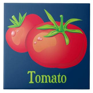 Teja decorativa de la cocina del tomate