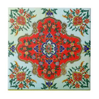 Teja decorativa del diseño del vintage