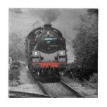 Teja decorativa del tren del vapor