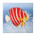 Teja del Angelfish de la hierbabuena