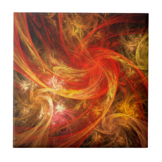 Teja del arte abstracto de Nova de la tormenta de