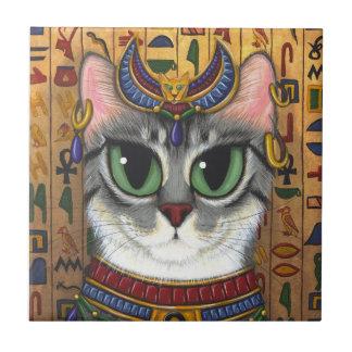 Teja del arte de Bastet del egipcio del gato de la