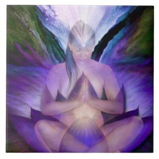 Teja del arte de la diosa de Chaka del tercer ojo