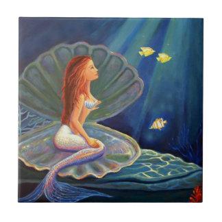Teja del arte de la sirena - por el arte de Susan