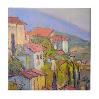 Teja del arte del escondite de Provence