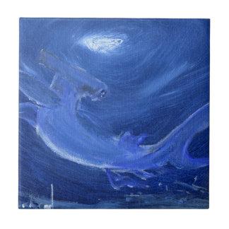 Teja del arte del tiburón