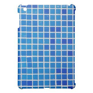 teja del azul del cuarto de baño iPad mini protectores